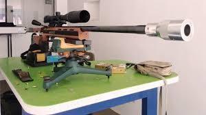 rifle deportivo con sintonizador