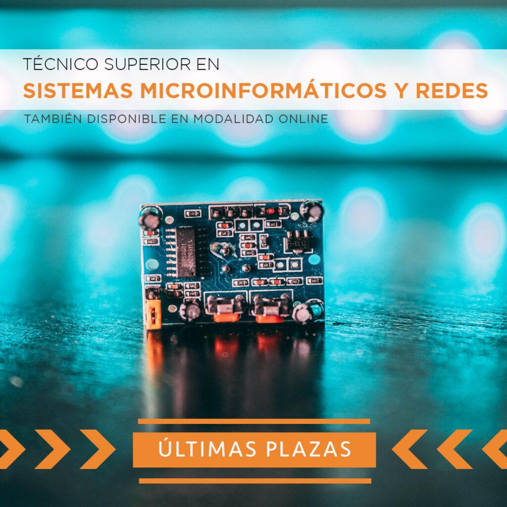 Sistemas microinformaticos ultimas plazas